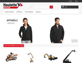 haulotte-boutique.com screenshot