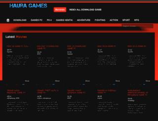 hauragames.info screenshot