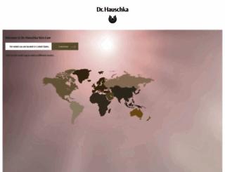 hauschka.com screenshot