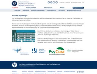 hausderpsychologie.de screenshot