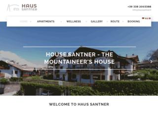 haussantner.it screenshot