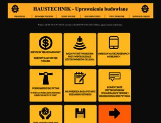 haustechnik.pl screenshot