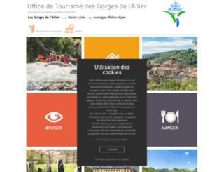 haut-allier.com screenshot