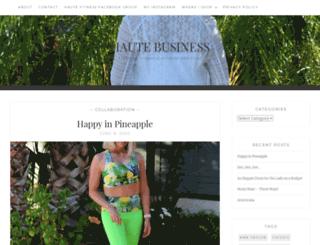 hautebusiness.com screenshot