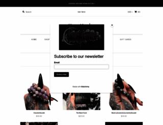 hautemacabre.com screenshot