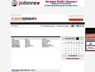 hautes-alpes.planetekiosque.com screenshot