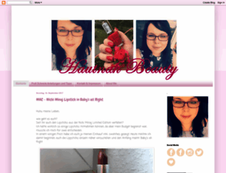 hautnahbeauty.blogspot.de screenshot
