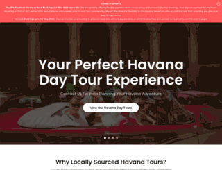 havanatourcompany.com screenshot