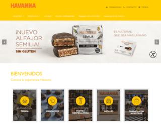 havanna.com.es screenshot