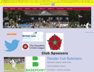 havantcc.play-cricket.com screenshot