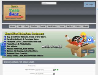 haveayardsale.com screenshot