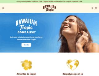 hawaiiantropic.es screenshot