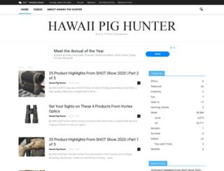 hawaiipighunter.com screenshot