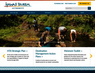 hawaiitourismauthority.org screenshot