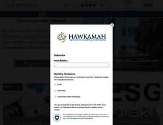 hawkamah.org screenshot