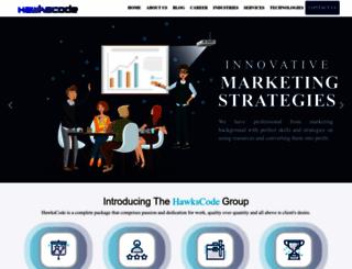 hawkscode.com screenshot