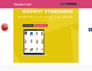 hawkscool.com screenshot