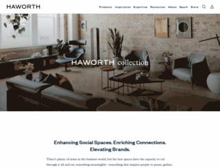 haworthcollection.com screenshot