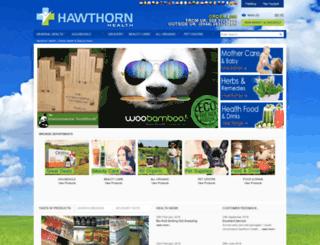 hawthornhealth.ie screenshot