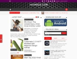 haxmaza.com screenshot