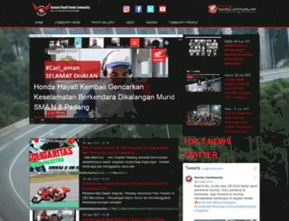 hayatihondacommunity.com screenshot