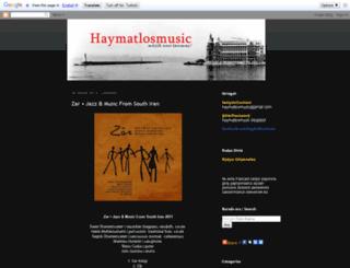 haymatlosmusic.blogspot.com screenshot