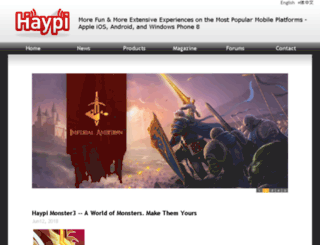 haypi.mobi screenshot