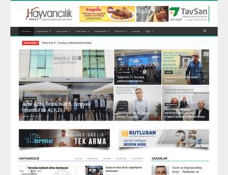 hayvancilikhaber.com screenshot