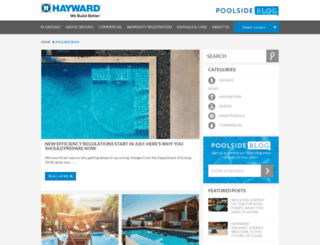 haywardpoolside.com screenshot