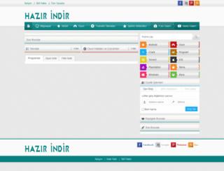 hazirindir.com screenshot