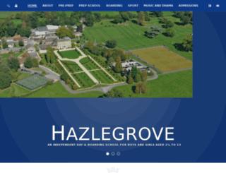 hazlegrove.co.uk screenshot