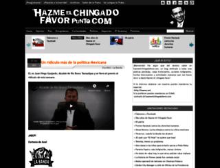 hazmeelchingadofavor.com screenshot