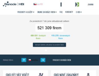 hbi.cz screenshot
