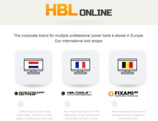 hblbv.nl screenshot