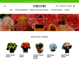 hbloom.com screenshot