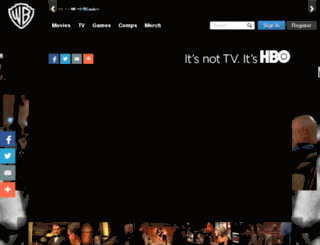 hbo.com.au screenshot
