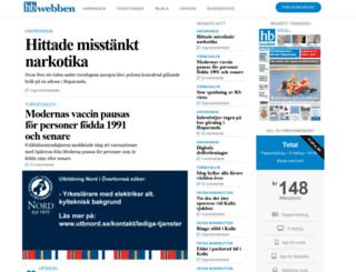 hbwebben.se screenshot