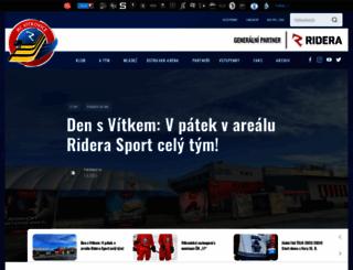 hc-vitkovice.cz screenshot