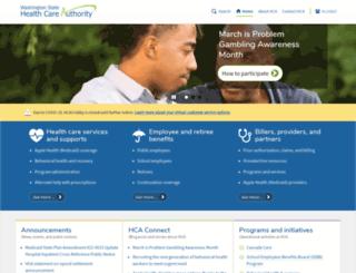 hca.wa.gov screenshot