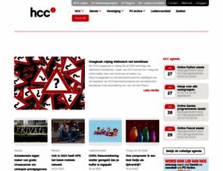 hcc.nl screenshot