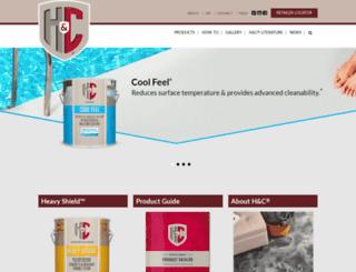 hcconcrete.com screenshot