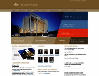 hcourt.gov.au screenshot