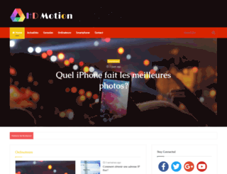 hd-motion.com screenshot