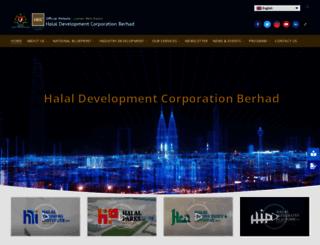 hdcglobal.com screenshot