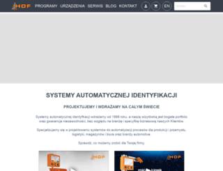 hdf.com.pl screenshot