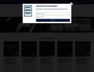 hdhwine.com screenshot