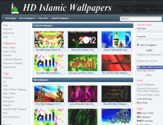 hdislamicwallpapers.com screenshot
