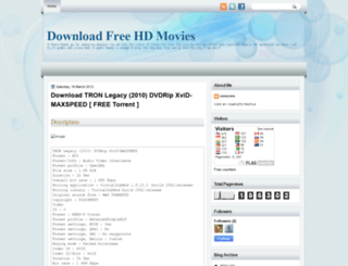 hdmoviefreedownloadblog.blogspot.com screenshot