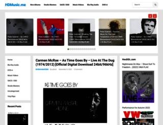 hdmusic.me screenshot
