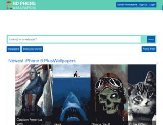 hdphonewallpapers.com screenshot
